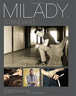 Milady Standard Barbering, by Milady, 6th Edition 9781305100558