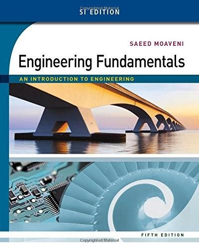 Engineering Fundamentals: An Introduction to Engineering, SI Edition 5 9781305105720