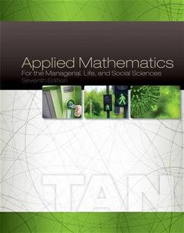 Applied Mathematics for the Managerial, Life, and Social Sciences 7 9781305107908