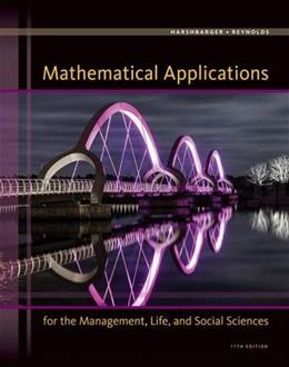 Mathematical Applications for the Management, Life, and Social Sciences 11 9781305108042