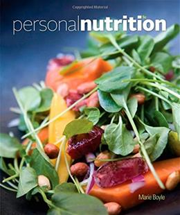 Personal Nutrition 9 9781305110427