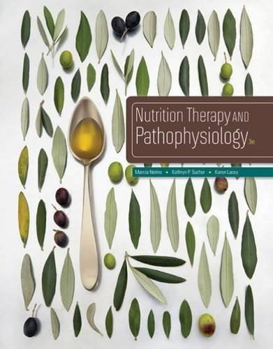 Nutrition Therapy and Pathophysiology 3 9781305111967