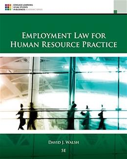 Employment Law for Human Resource Practice 5 9781305112124