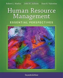 Human Resource Management: Essential Perspectives 7 9781305115248