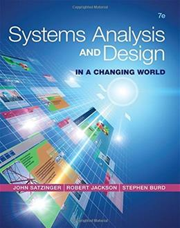 Systems Analysis and Design in a Changing World 7 9781305117204