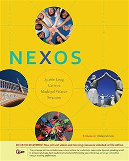Bundle: Nexos, Enhanced, 3rd + iLrn™ Heinle Learning Center, 4 terms (24 Months) Printed Access Card 3 PKG 9781305248588