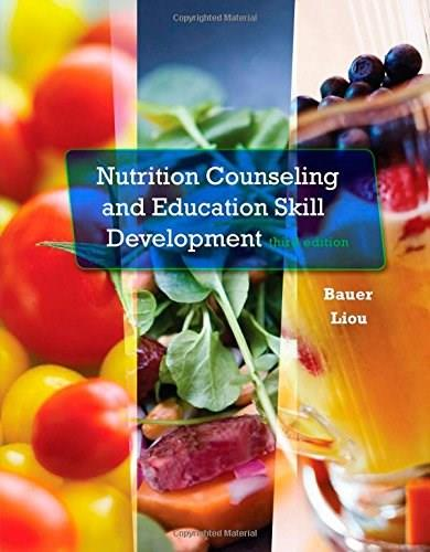 Nutrition Counseling and Education Skill Development 3 9781305252486