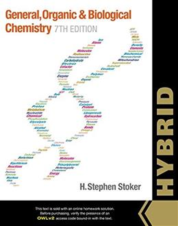 General, Organic, and Biological Chemistry, Hybrid, by Stoker, 7th Edition 7 PKG 9781305253070