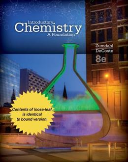 Introductory Chemistry: A Foundation, by Zumdahl, 8th Edition 9781305256743