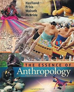 The Essence of Anthropology 4 PKG 9781305258983