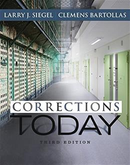 Corrections Today 3 9781305261082