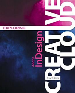 Exploring Adobe InDesign Creative Cloud, by Rydberg 9781305263642