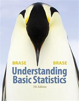 Understanding Basic Statistics, by Brase, 7th Edition 9781305267251