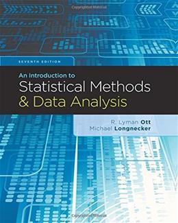 An Introduction to Statistical Methods and Data Analysis 7 9781305269477