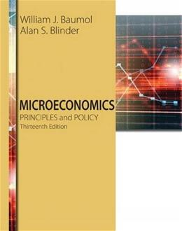 Microeconomics: Principles and Policy 13 9781305280618