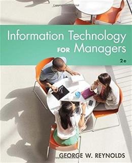 Information Technology for Managers 2 9781305389830