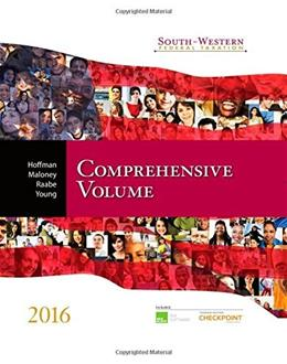 South-Western Federal Taxation 2016: Comprehensive Volume PKG 9781305395114
