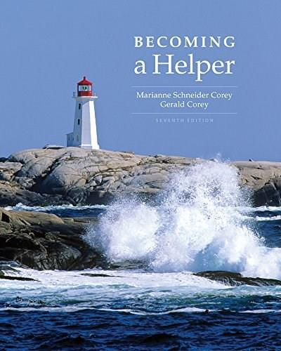 Cengage Advantage Books: Becoming a Helper, by Corey, 7th Edition 9781305401075