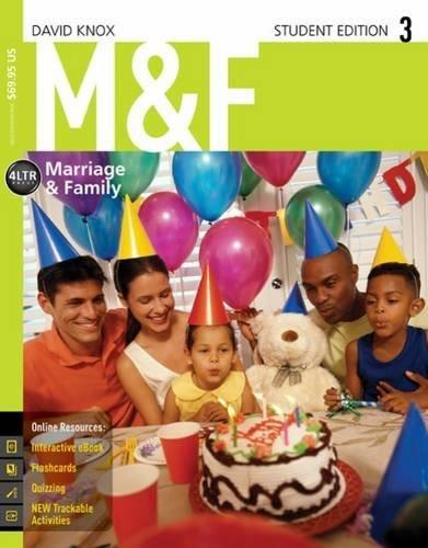 M&F (with CourseMate, 1 term (6 months) Printed Access Card) (New, Engaging Titles from 4LTR Press) 3 PKG 9781305406377