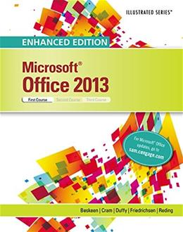 Enhanced Microsoft Office 2013: Illustrated Introductory, First Course, Spiral bound Version (Microsoft Office 2013 Enhanced Editions) 9781305409026