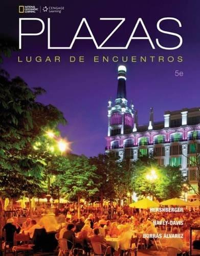 Plazas, by Hershberger, 5th Edition 9781305499621