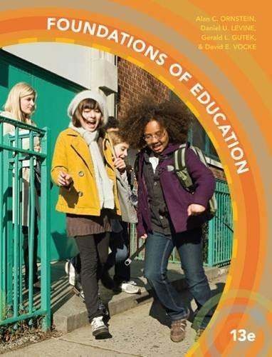 Foundations of Education 13 9781305500983