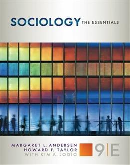 Sociology: The Essentials 9 9781305503083