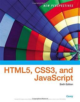 New Perspectives on HTML5, CSS3, and JavaScript 6 9781305503922