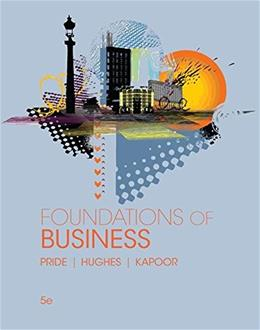 Foundations of Business (Standalone Book) 5 9781305511064
