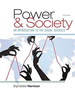 Power and Society: An Introduction to the Social Sciences 14 9781305576728