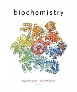 Biochemistry, by Garrett, 6th Edition 9781305577206