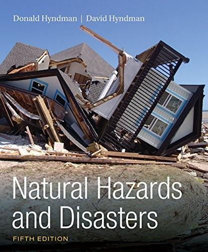 Natural Hazards and Disasters 5 9781305581692
