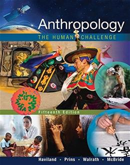 Anthropology: The Human Challenge, by Haviland, 15th Edition 9781305583696