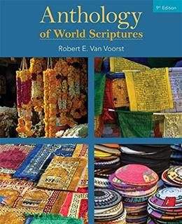 Anthology of World Scriptures, by Voorst, 9th Edition 9781305584495