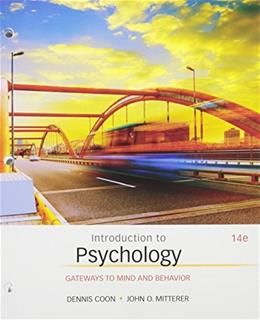 Bundle: Introduction to Psychology: Gateways to Mind and Behavior, 14th + LMS Integrated for MindTap Psychology, 1 term (6 months) Printed Access Card 9781305623996