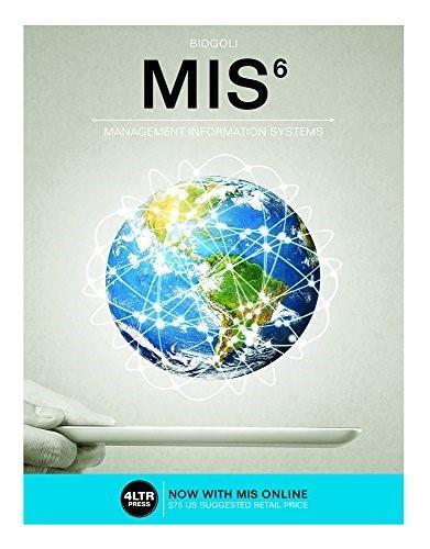 MIS (with MIS Online, 1 term (6 months) Printed Access Card) (New, Engaging Titles from 4LTR Press) 6 PKG 9781305632004