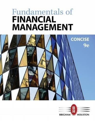 Fundamentals of Financial Management, Concise Edition 9 9781305635937