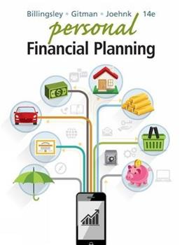 Personal Financial Planning 14 9781305636613
