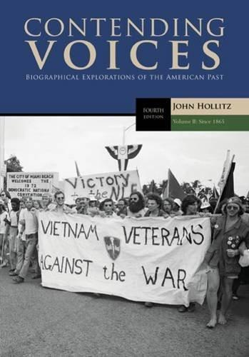Contending Voices, Volume II: Since 1865: 2 4 9781305655942
