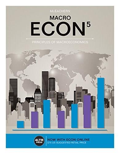 ECON MACRO (New, Engaging Titles from 4LTR Press) 5 PKG 9781305659094