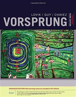Vorsprung: A Communicative Introduction to German Language And Culture, by Lovik, 3rd Edition 9781305659797