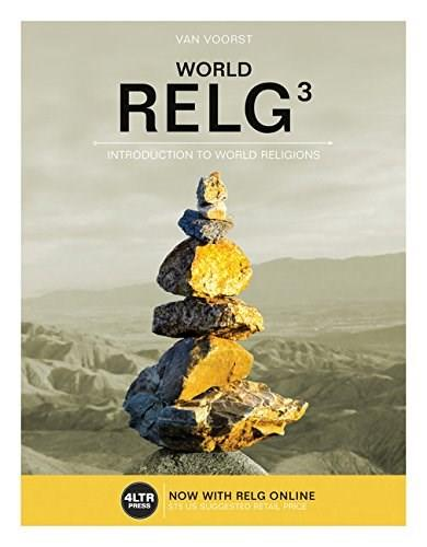 RELG: World, by Van Voorst, 3rd Edition 3 PKG 9781305660441