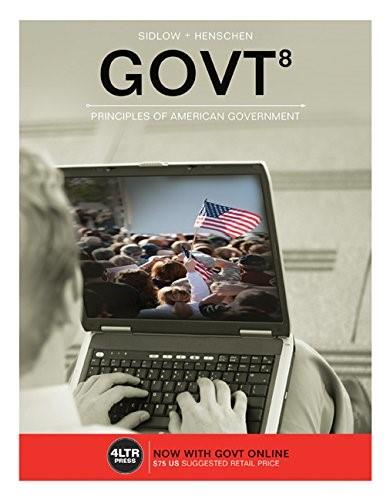 GOVT (New, Engaging Titles from 4LTR Press) 8 PKG 9781305660816