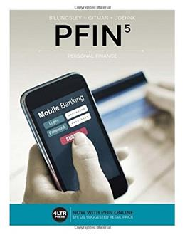 PFIN 5, by Gitman, 5th Edition 5 PKG 9781305661707