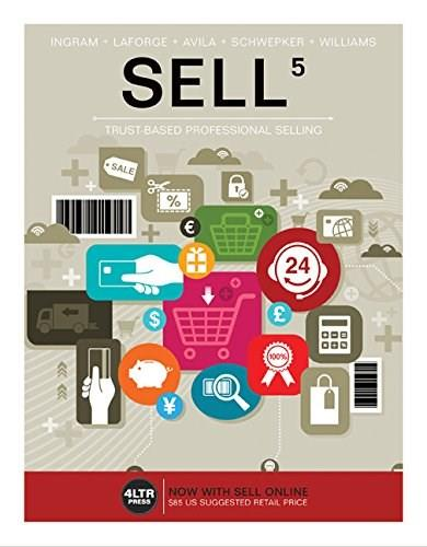 SELL (New, Engaging Titles from 4LTR Press) 5 PKG 9781305662094