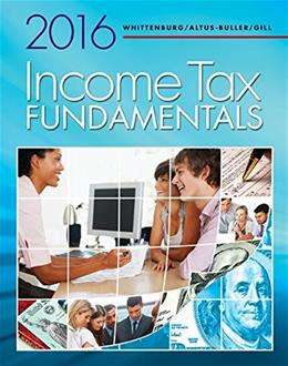 Income Tax Fundamentals 2016 (with H&R Block™ Premium & Business Access Code) 34 PKG 9781305664487