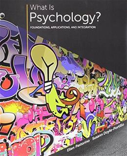 Bundle: What is Psychology?: Foundations, Applications, and Integration, 3rd + LMS Integrated for MindTap Psychology, 1 term (6 months) Printed Access Card 9781305700871