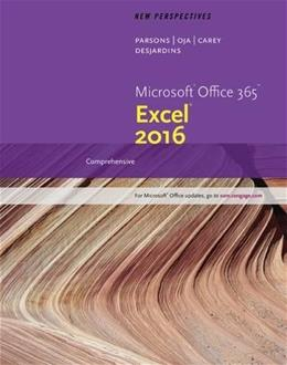 New Perspectives Microsoft Office 365 & Excel 2016: Comprehensive 001 9781305880405