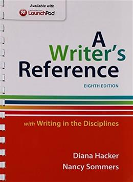 Writers Reference with Writing in the Disciplines 8e & LaunchPad for A Writers Reference 8e (One Year Access) Eighth Edi 9781319009137