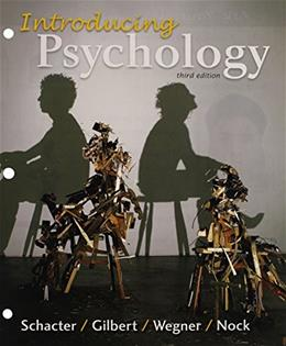 Loose-leaf Version for Introducing Psychology 3e & LaunchPad for Schacters Introducing Psychology 3e (Six Month Access) Third Edit 9781319014896